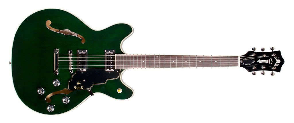 Guild Starfire IV ST Maple Semi-Hollow Electric Guitar - Emerald Green
