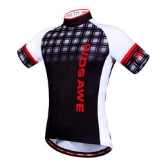 Wosawe Mens Bicycle Clothing Short Sleeves Cycling Jersey