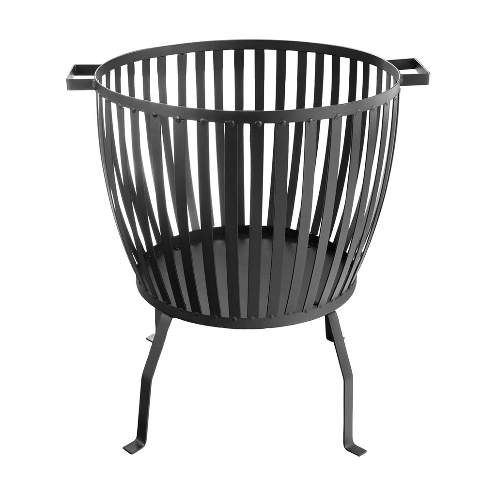 Harbour Housewares Cast Iron Garden Brazier Fire Pit - 62cm
