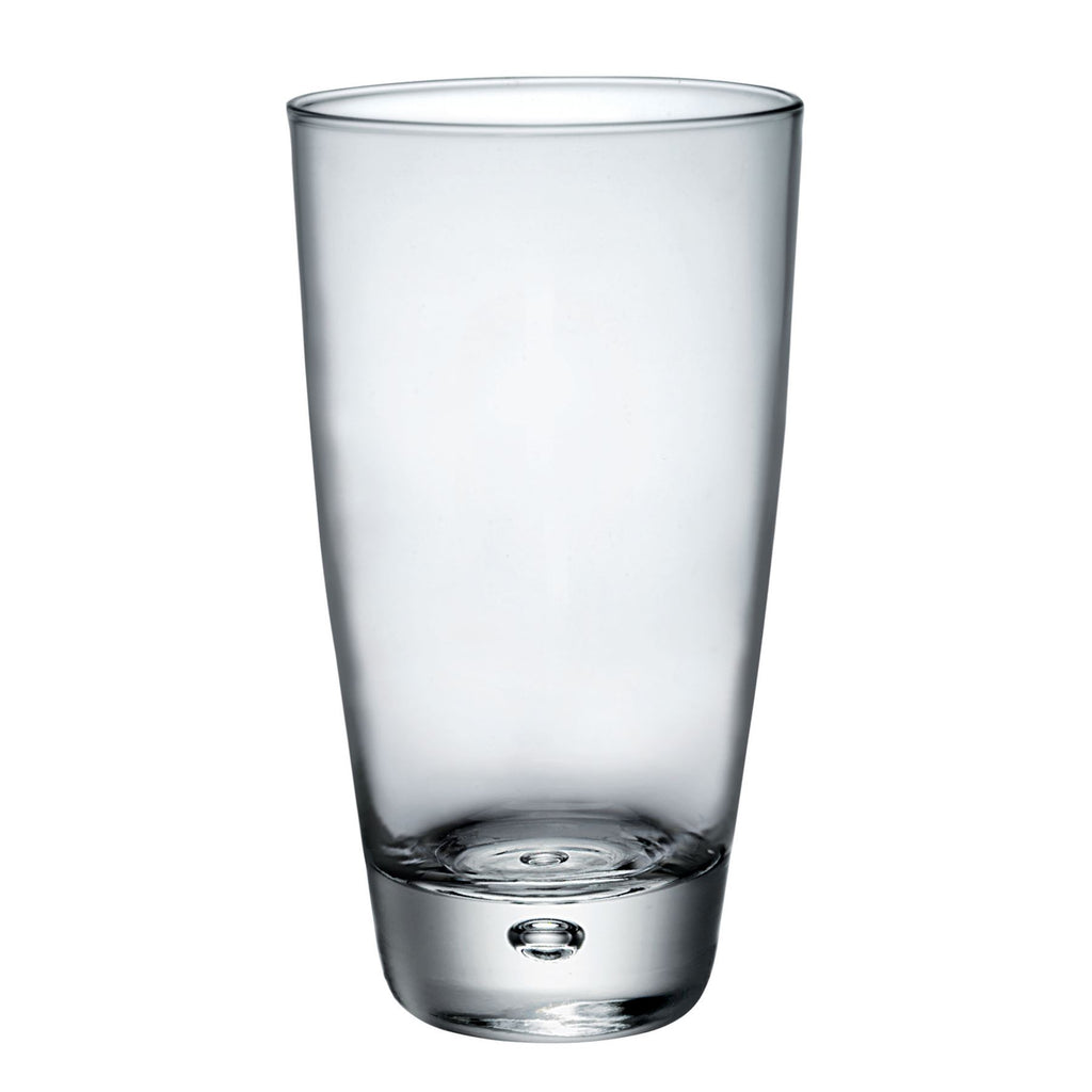 Bormioli Rocco 6 Luna Bubble Base Highball Cocktail Glasses - 340ml
