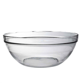 Duralex Lys Clear Stacking Glass Food Bowl - 310mm