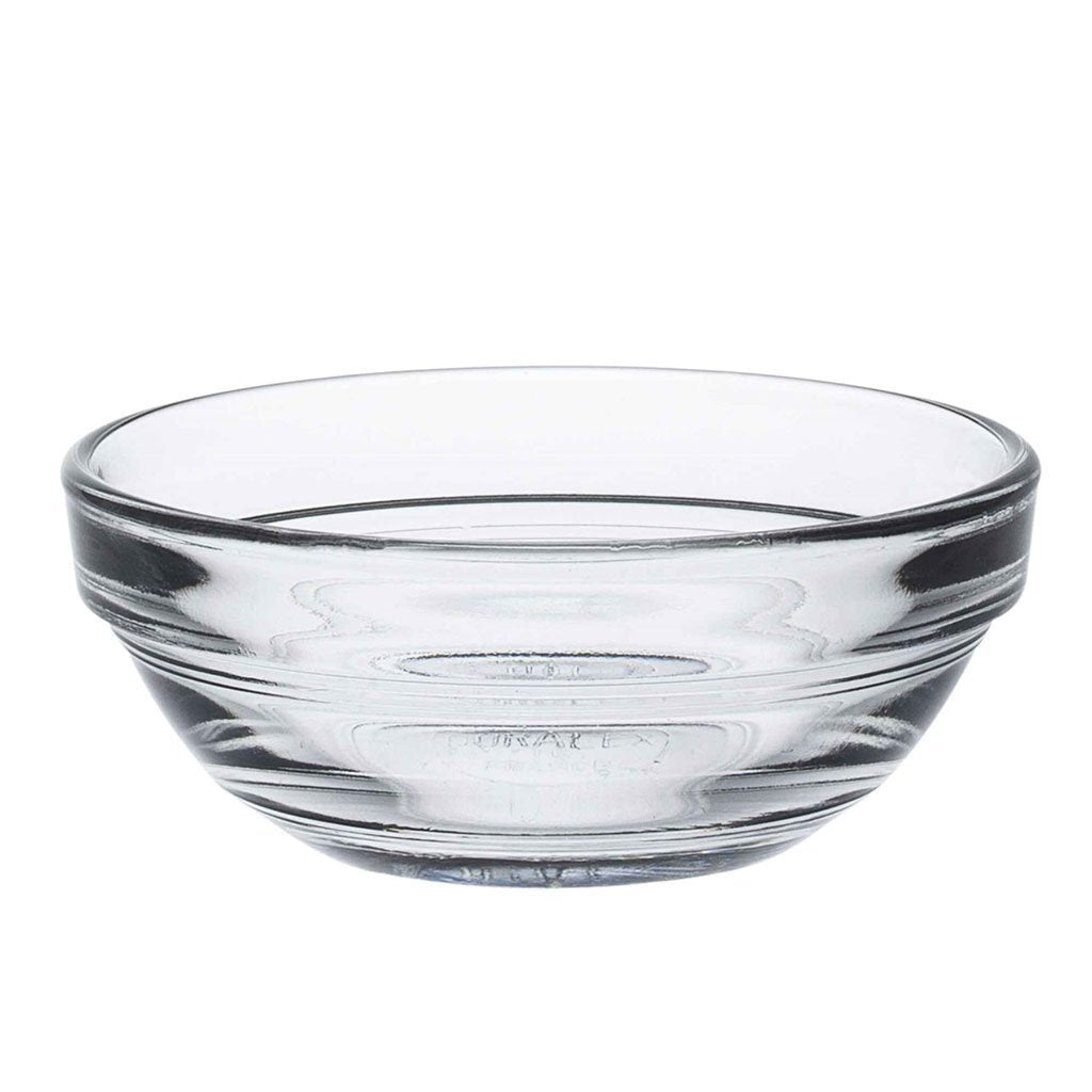Duralex Lys Clear Stacking Glass Food Bowl - 75mm