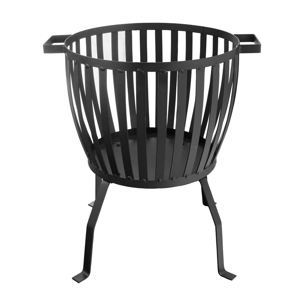 Harbour Housewares Cast Iron Garden Brazier Fire Pit - 50cm