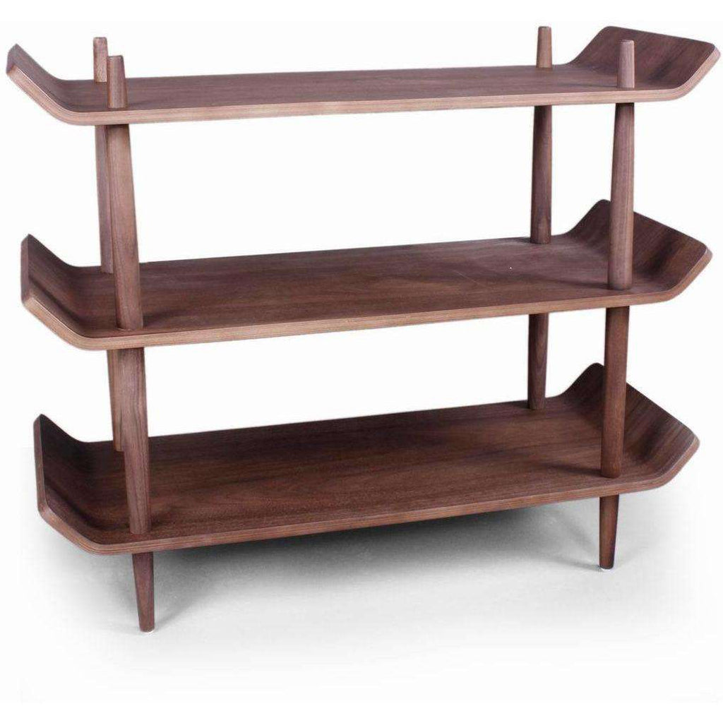 Mid-Century Modern Reproduction Sean Dix Modern Bentwood Single Shelf Inspired by Sean Dix