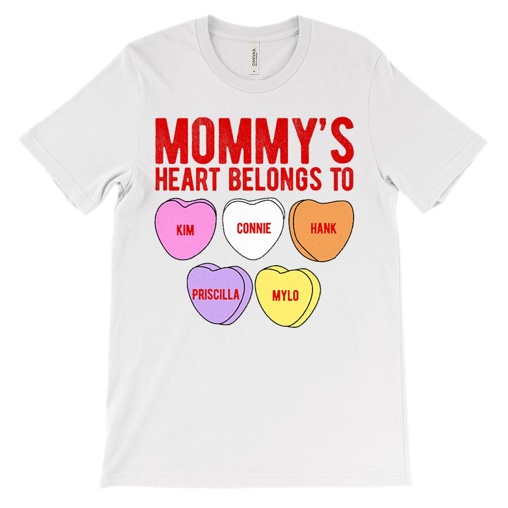 Custum Hearts Connie_Jackson.png Graphic T-Shirt Tee BOXELS
