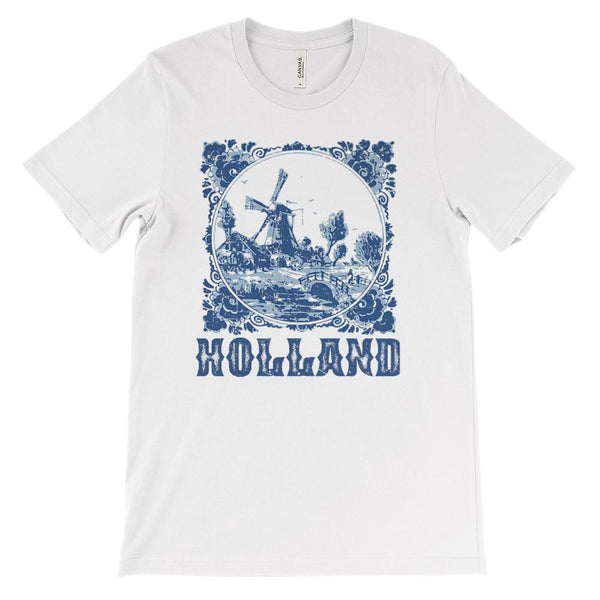 (Soft Unisex BC 3001) Holland Graphic T-Shirt Tee BOXELS