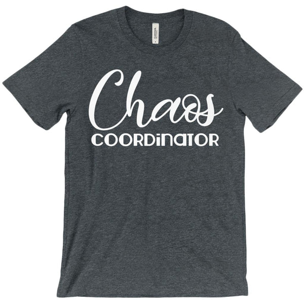 (Unisex BC 3001 Soft Tee - Other Colors) Chaos Coordinator Other Trendy Colors Graphic T-Shirt Tee BOXELS