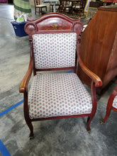 Antique Victorian Sattee with 2 matching chairs