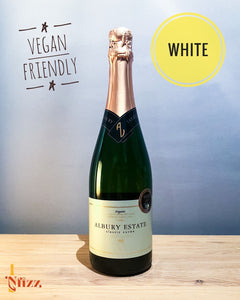 Delicious biodynamic sparkling wine - Albury vineyard nfizz wines