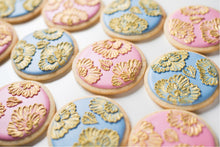 Brush Embroidery Kit (Bake and Decorate 24 cookies)