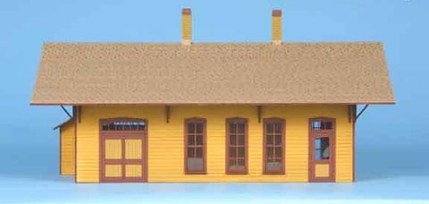 American Model Builders 112  Cumbres Station - The Scuderia 46