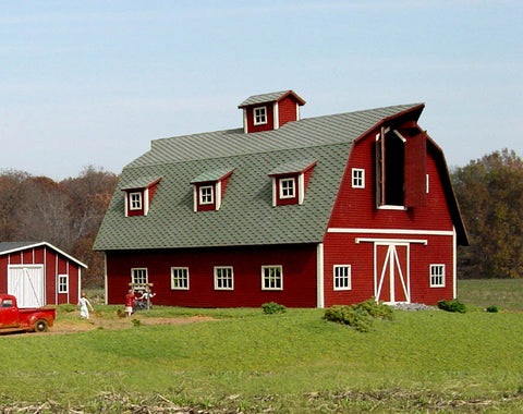 American Model Builders 119  Country Barn - The Scuderia 46