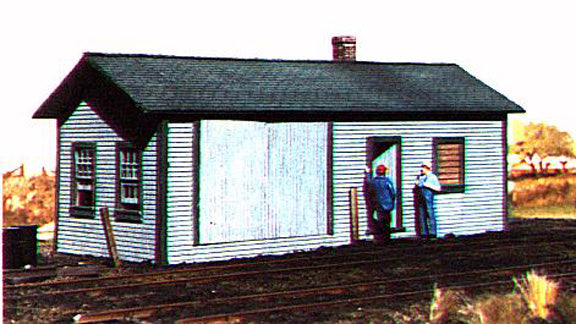 American Model Builders 118  Railroad Supply Building - The Scuderia 46