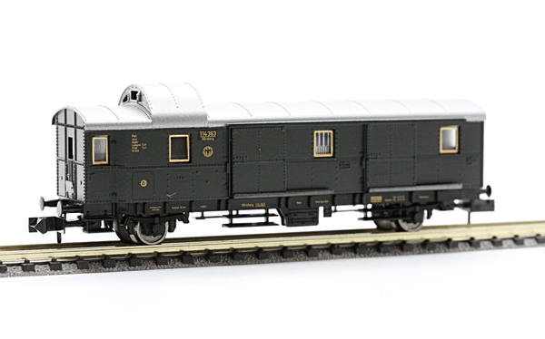 Fleischmann 8660  Baggage coach, type Pwi of the DRG - The Scuderia 46