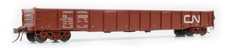 "Rapido Trains  52'6"" Mill Gondola CN Noodle #145059"