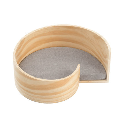 Wooden Pet Bed - Spiral