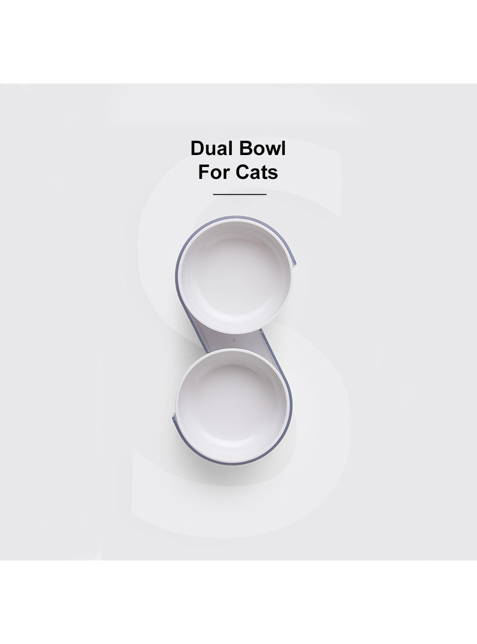 Dual Bowl For Cats