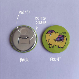 Ellie Fridge Magnet-Bottle Opener