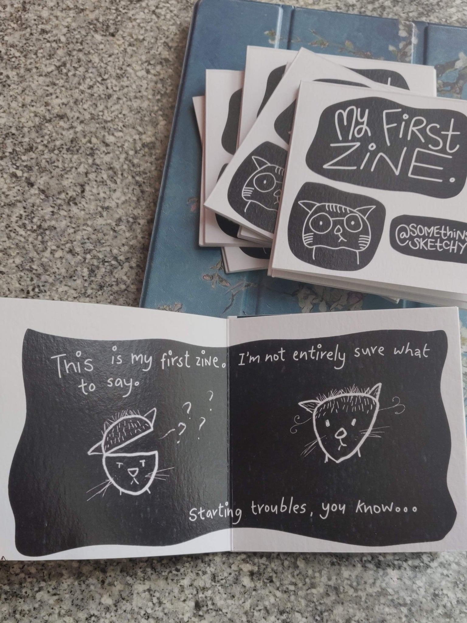 The Creative Process (My First Zine)