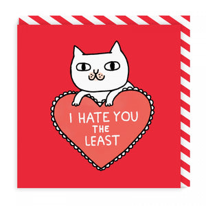 Greeting Card - Love/Hate - CatMamaShop