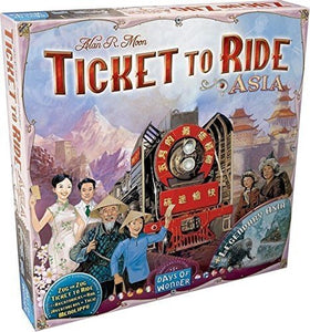 Ticket to Ride Map Collection: Vol 1 – Team Asia & Legendary Asia