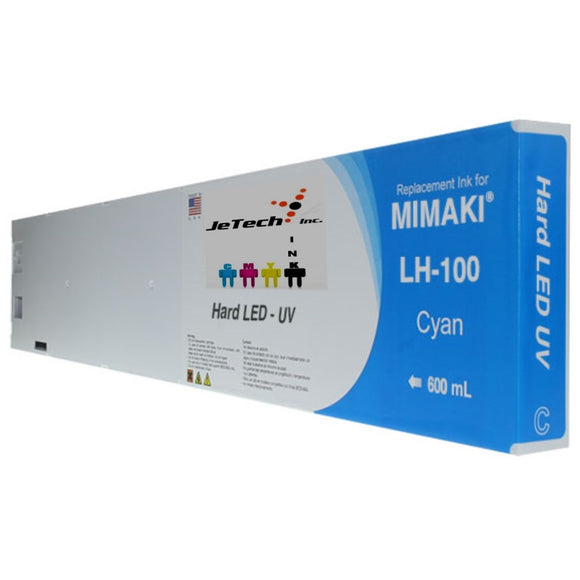Mimaki LH-100 SPC-0597C UV LED Ink Cartridge 600ml Cyan