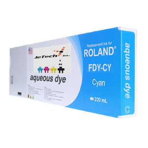 Roland Aqueous Dye FDY-CY 220ml Cyan
