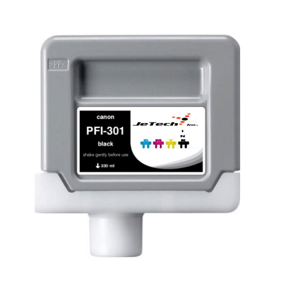 Canon PFI-301 330ml Ink Cartridge Black