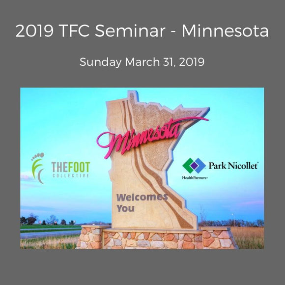 TFC Seminar - Minnesota. March 31, 2019