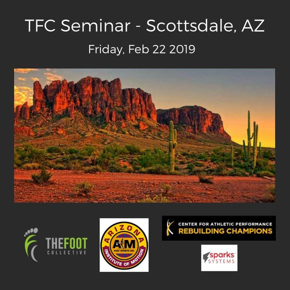 TFC Seminar - Arizona, Feb 22, 2019