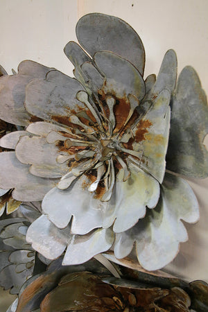 Oversized Metal Flowers