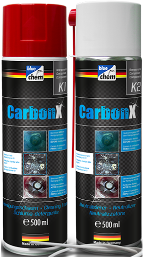 Carbon X Combustion Chamber Cleaner K1 + K2