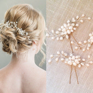 Pearl and Hair Pins