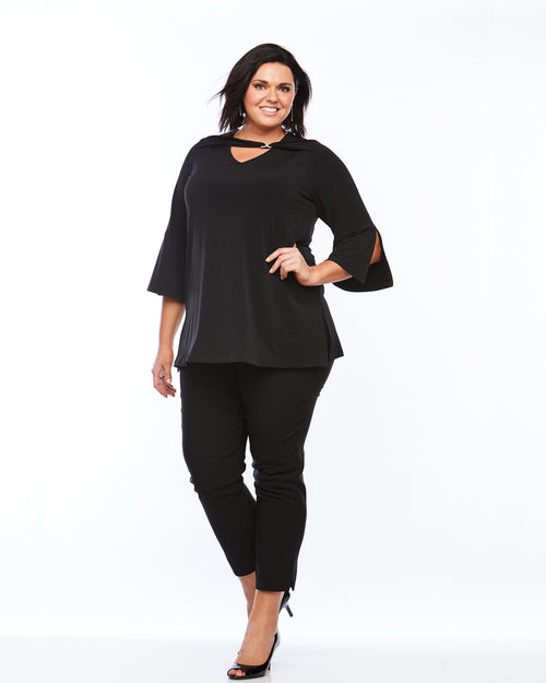 Room To Move Pants, Plus size black pants