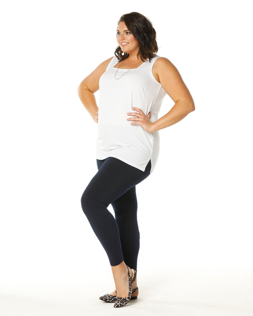 Full Length Legging-Navy