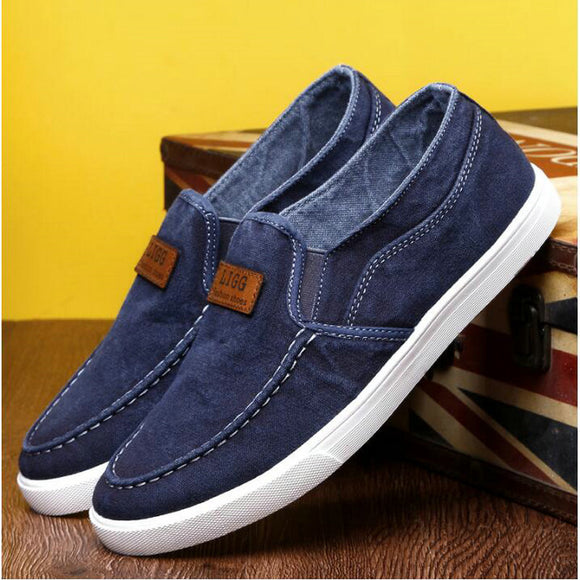 Vulcanize Denim Casual Flats for Men