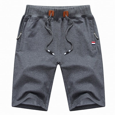Men's Cotton Casual Beach Shorts