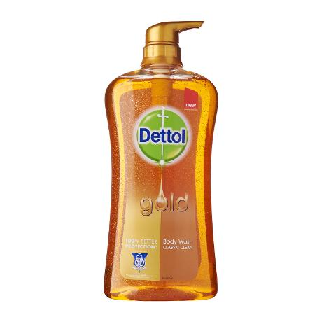 Dettol Gold Classic Clean Shower Gel 950 ml