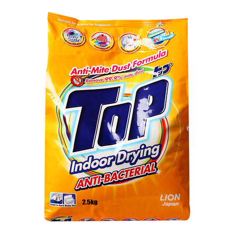 Top Anti Bacterial Power Detergent 2.5kg