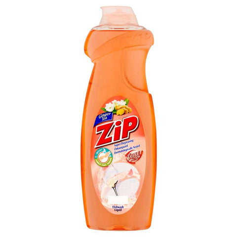 Zip Dish Washing Liquid 900ml Ginger Tea