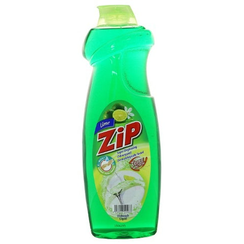 Zip Dish Washing Liquid 900ml Lime