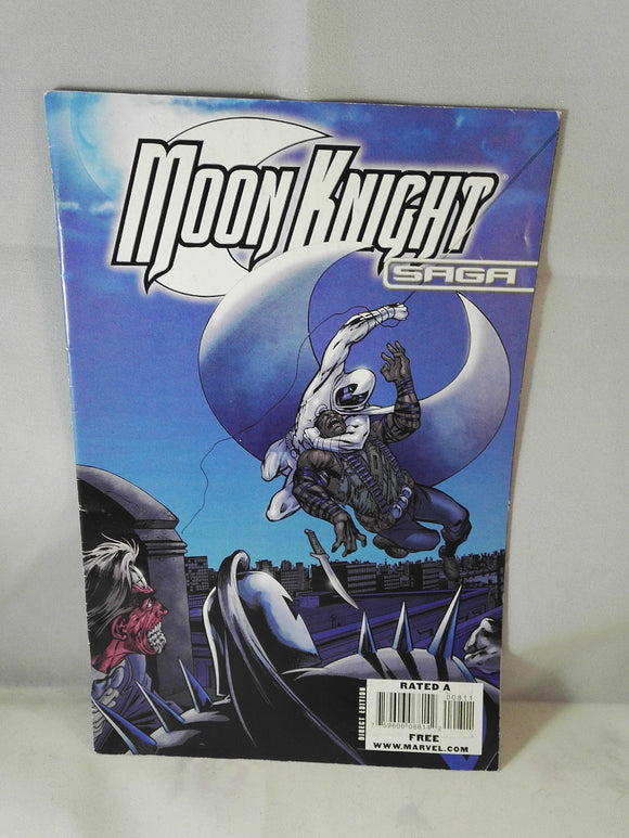 Moon Knight Saga Marvel Comic