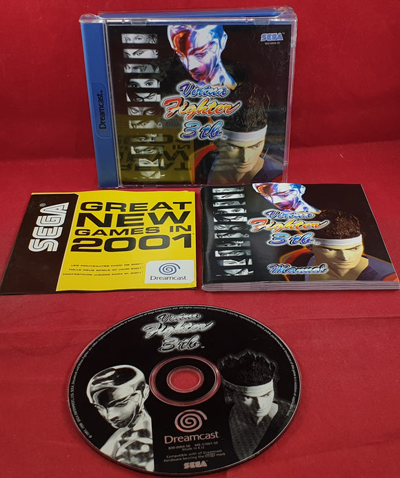 Virtua Fighter 3tb Sega Dreamcast Game