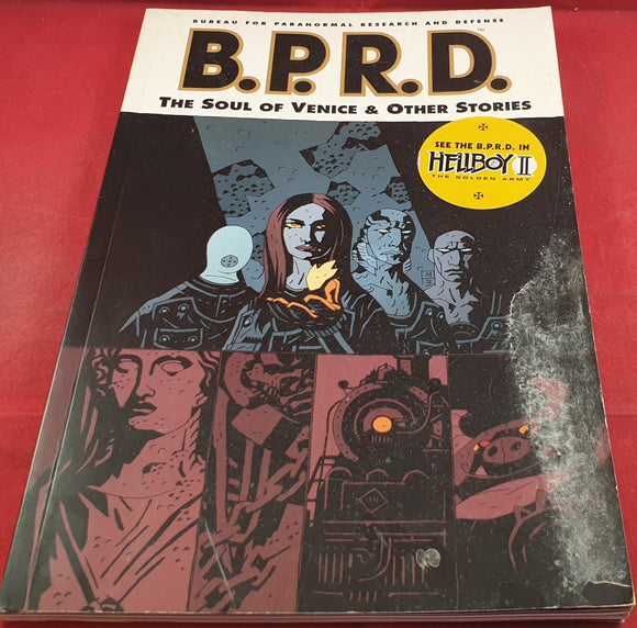 B.P.R.D the Soul of Venice & Other Stories Comic Book