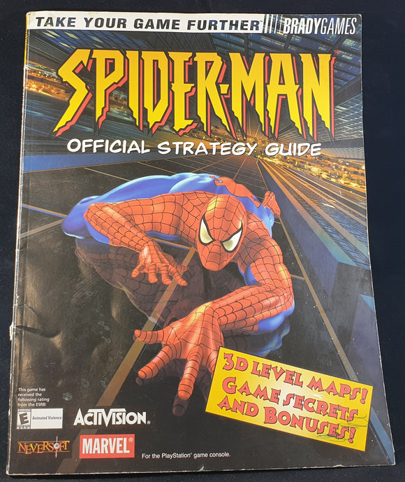 Spider-Man Official Strategy Guide Book