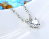 Romantic Heart Pendant Necklace - Love Touch Jewelry