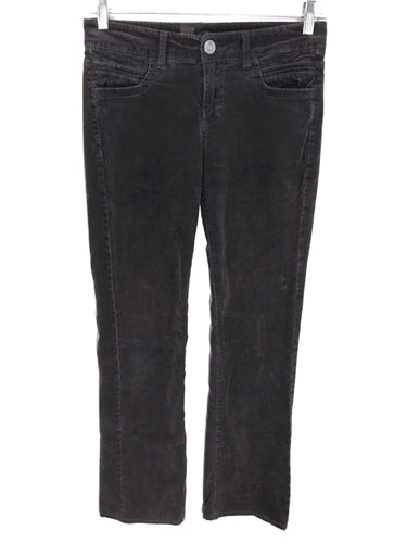 Kut from the Kloth Corduroy Jeans Pants Gray Flap Pockets KP540MA1 Womens 2 - Preowned - FunkyCrap Boutique