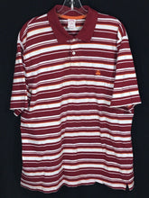 Brooks Brothers 346 Polo Striped Red White Orange Sewn Logo Short Sleeve Shirt Mens XL - Preowned - FunkyCrap Boutique