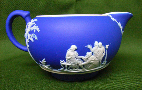 Wedgewood blue milk jug
