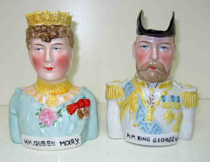 George and Mary jugs